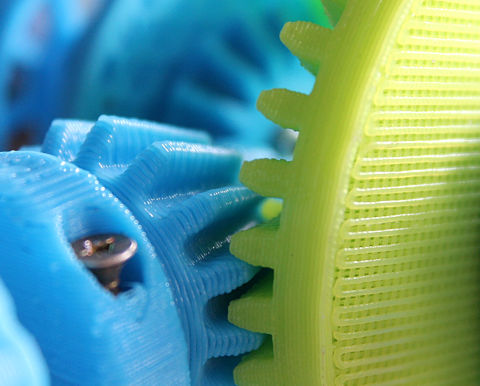 Zębatka - wydruk 3D