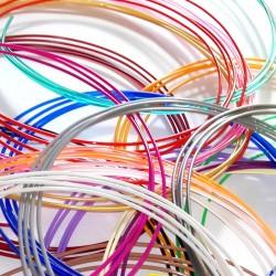 Wkłady do długopisu 3D (30 kolorów x 2m - filament PLA 1.75mm)
