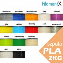Filament PLA 1.75mm 2kg (various colors to choose)